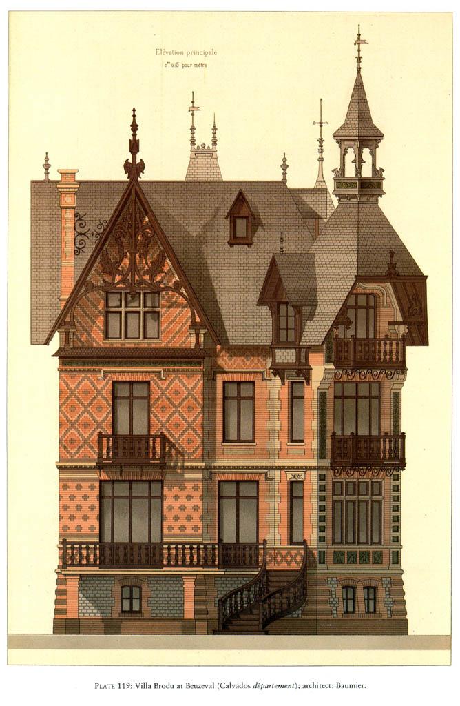 Дома в Викторианском стиле