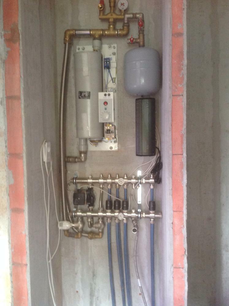 Контрольный шкаф напольного отопления