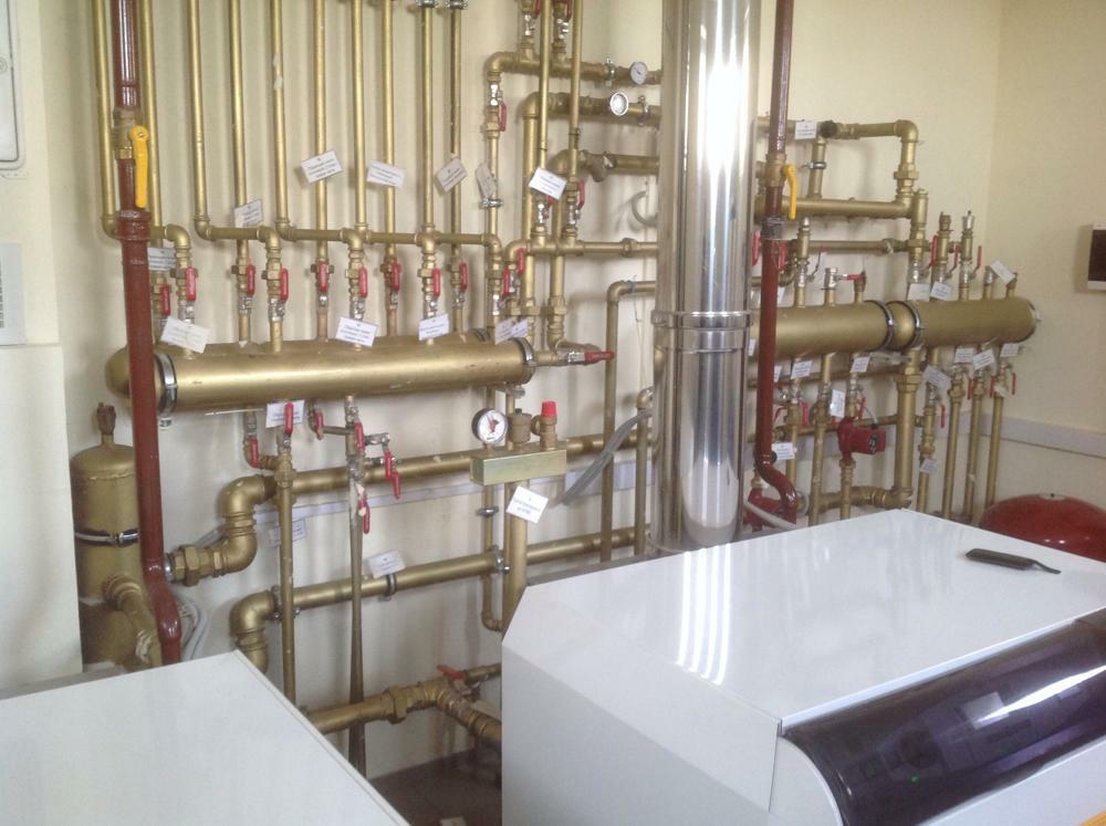 разводка труб в системе отопления 2