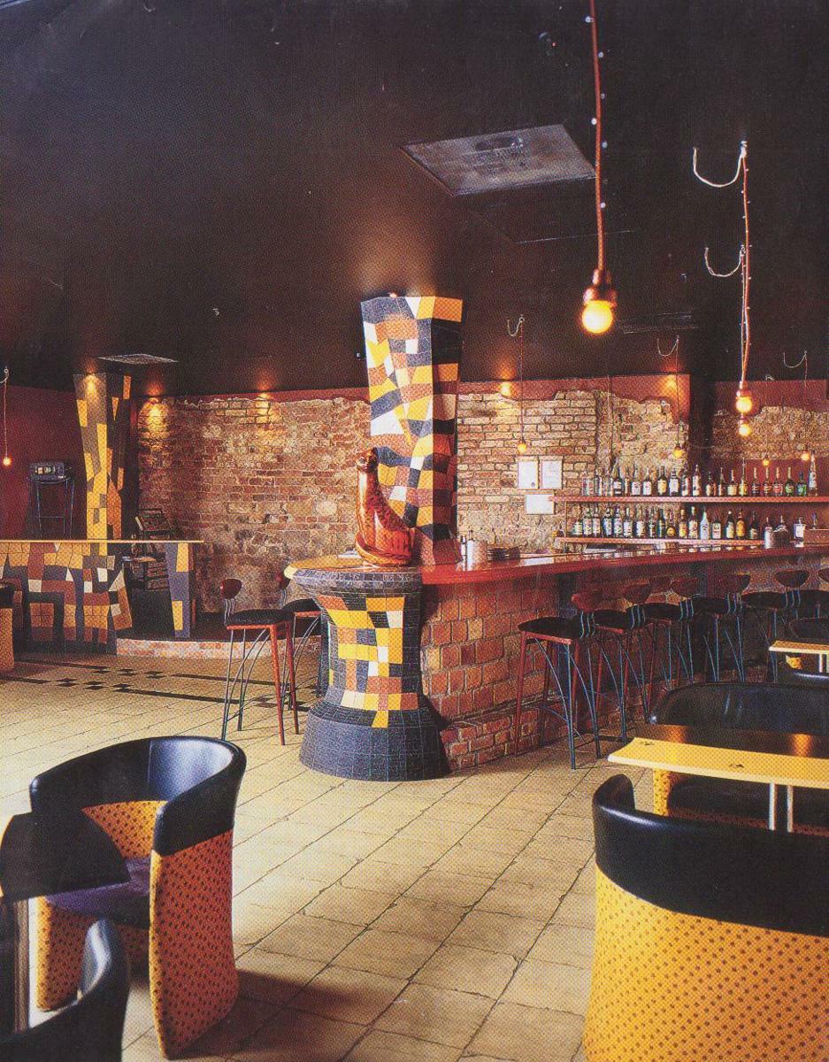 Дизайн интерьера ресторана Арлекино