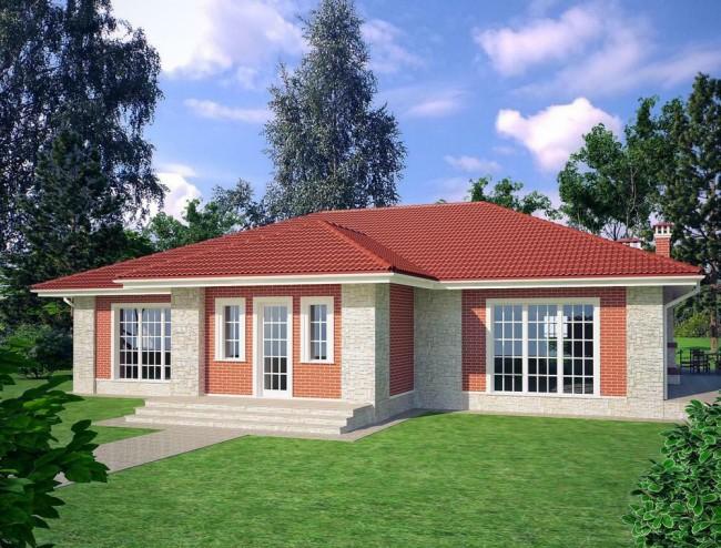 Проект загородного дома 180 кв.м в Манихино