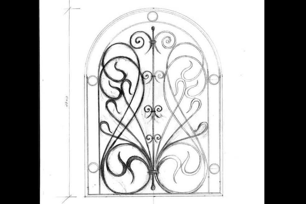 Кованные оконные решетки (150)