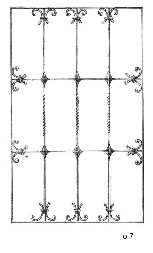 Кованные оконные решетки (22)