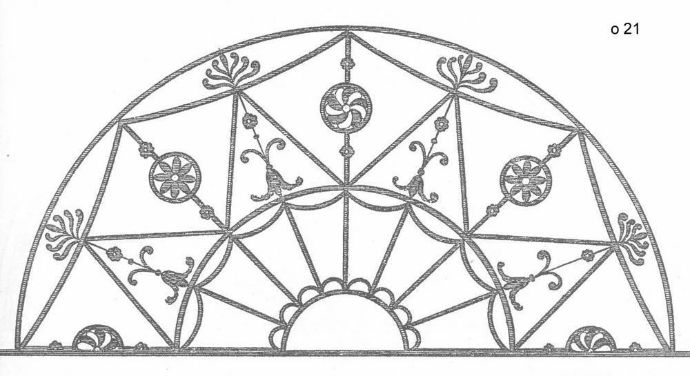 Кованные оконные решетки (23)