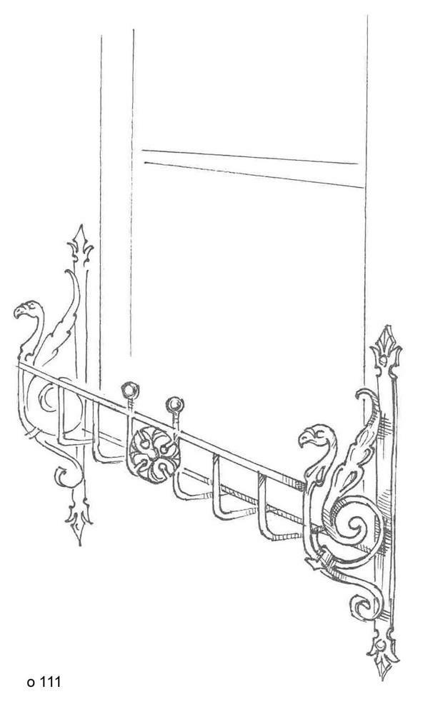 Кованные оконные решетки (24)