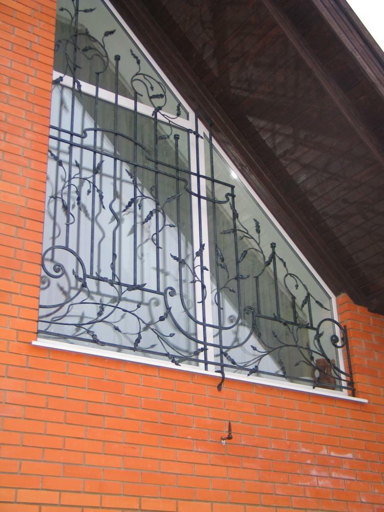 Кованные оконные решетки (4)