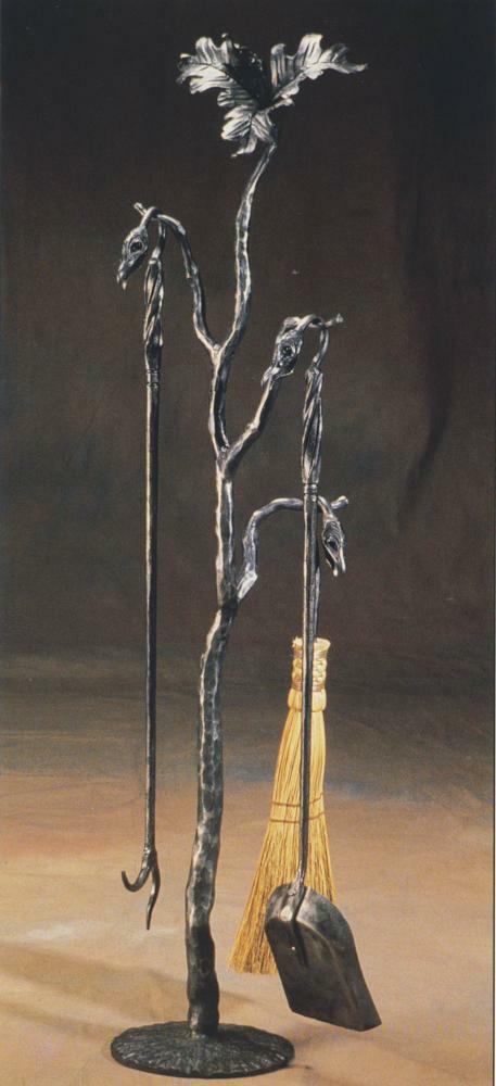 набор для камина дерево
