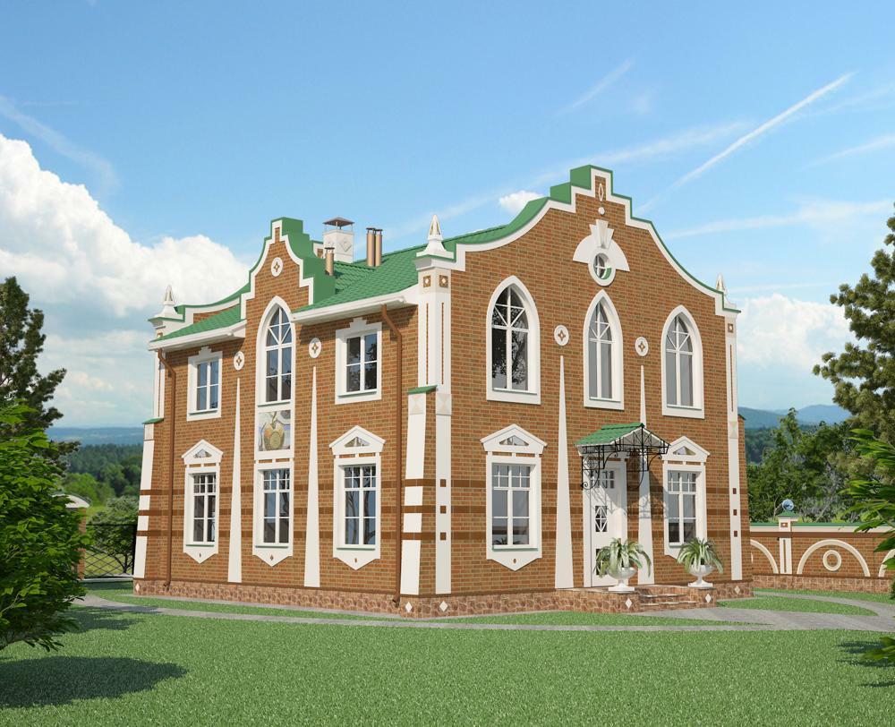 Дом в стиле Мунцарт